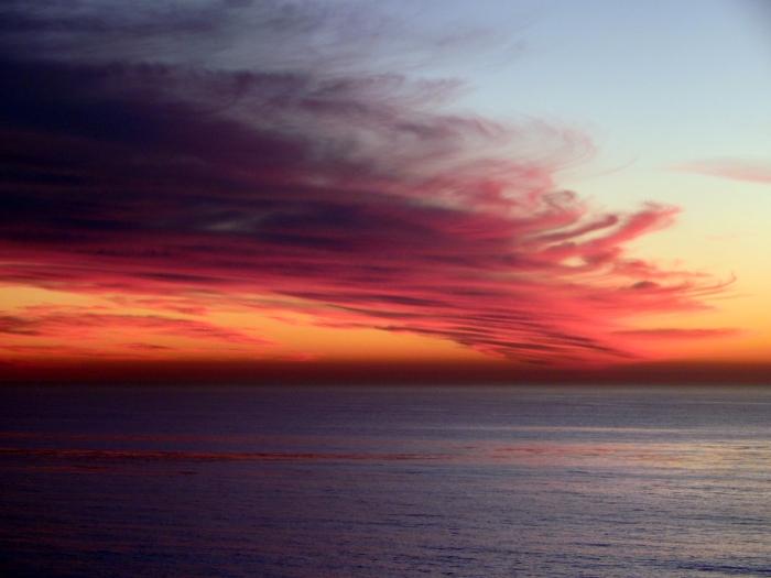 Stunning Sunset Cardiff  CA 1.16.15. www.sjfcommunications.com