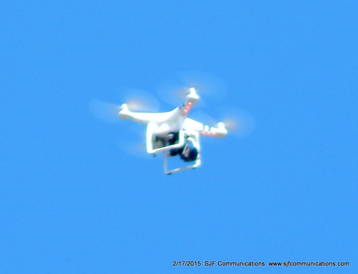 JIm Gleason's Drone in the Sky at Torrey Pines State Beach