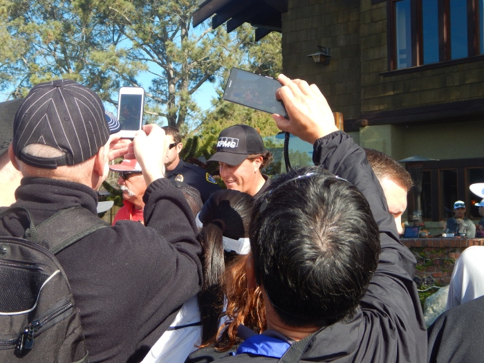 Farmers Open Torrey Pines, Phil Mickelson; Photo by Susan Farese, SJF Communications
